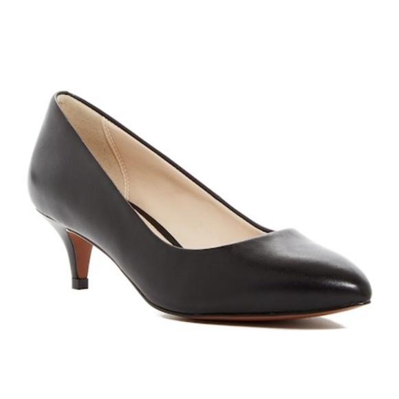 797b67444ea Cole Haan Shoes - Cole Haan Grand os Quincy Kitten Heel Pump